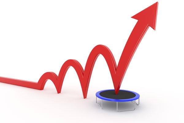 skokový růst prodeje knih